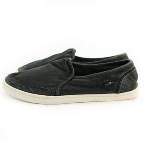 Sanuk Shoes - Sanuk Sidewalk Surfers Pair O Dice Washed Black